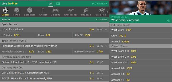 B365 Online Betting