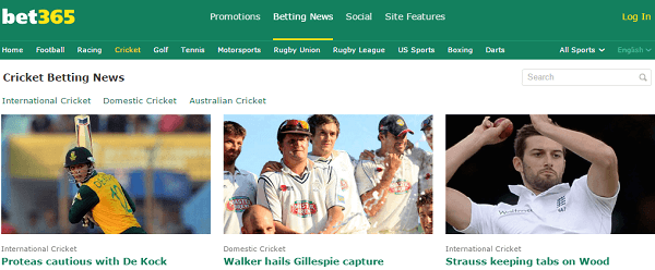 Bet65 Cricket
