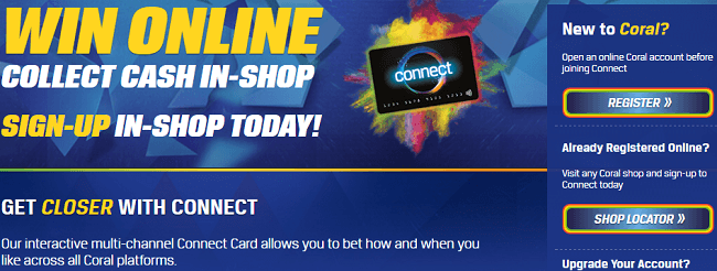 Coral Cash Out Card