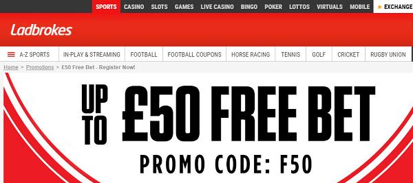 Ladbrokes Promo Code