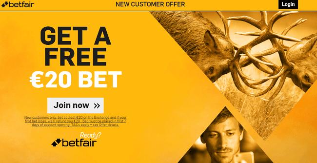 Betfair Exchange Bonus Offer