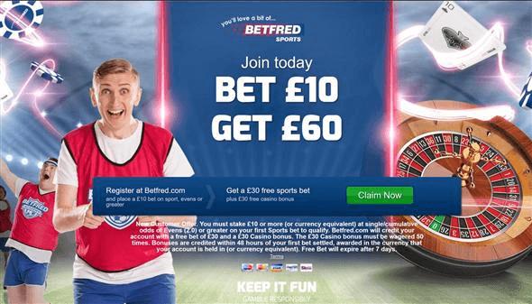 Betfred Sports Betting Bonus