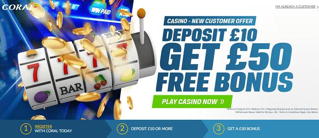 Carol Casino Slots Offer