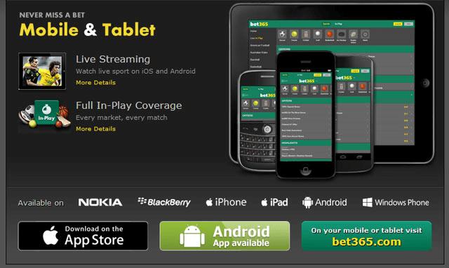 Download Bet365 Mobile App