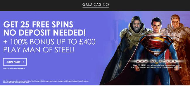 Gala Casino Bonus Offer