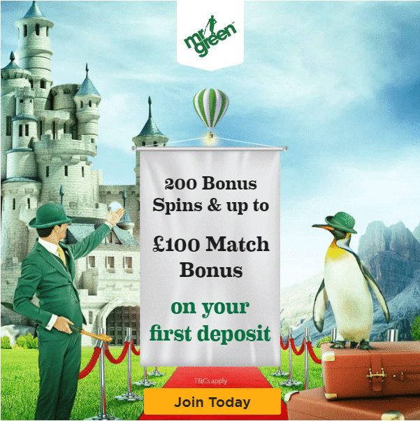 Mr Green Bonus Offer
