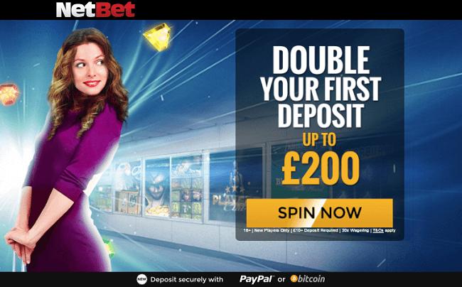 Netbet Casino Welcome Bonus