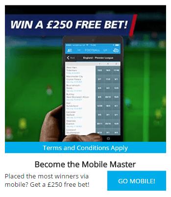 Sportingbet Mobile Free Bet